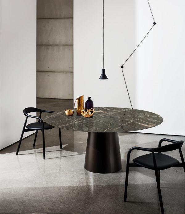 table sovet cérarmique ronde