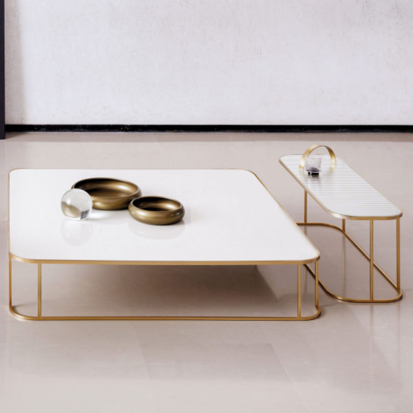 table design basse metal