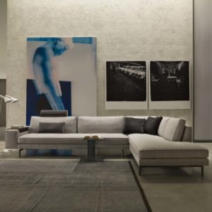 Canapé design d'angle verzelloni irving