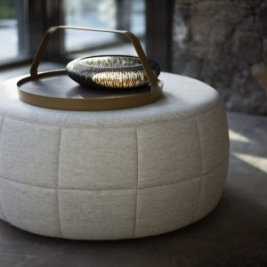 pouf barrell design on stock