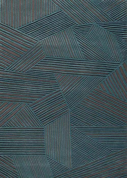 tapis géométrique toulemonde bochart