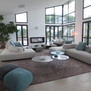 Projet Indoor-Outdoor à Cannes